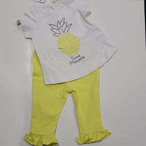 Mamino pineapple girls set